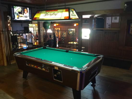 Delightful Blarney Stone: Pool Table Area