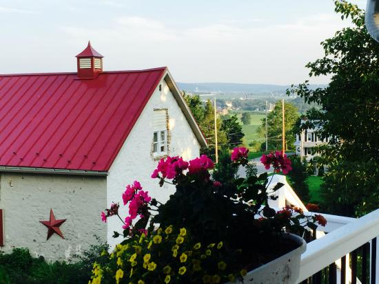 Terre Hill, Pensylwania: View from the upper balcony