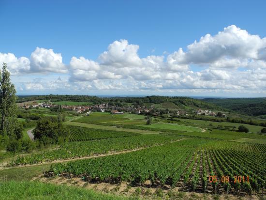 Meloisey, vue du Château d'eau