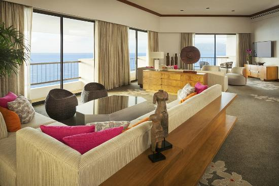 Hyatt Regency Maui Resort And Spa Presidential Suite Living Room