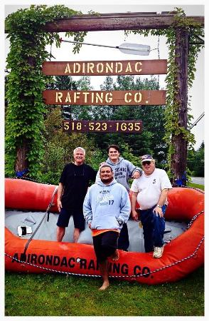 Indian Lake, NY: Adrenaline junkies very happy after our day with ARC!!