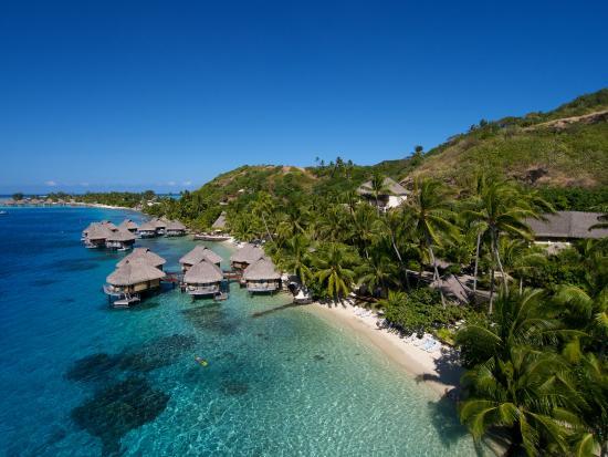 Maitai Polynesia Bora Bora: Vue aérienne