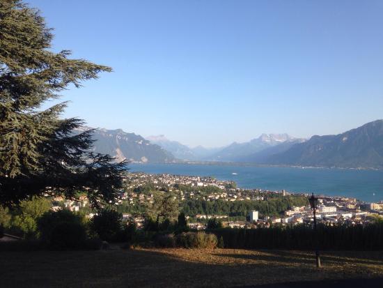 Jongny, Swiss: Traumhafte Aussicht