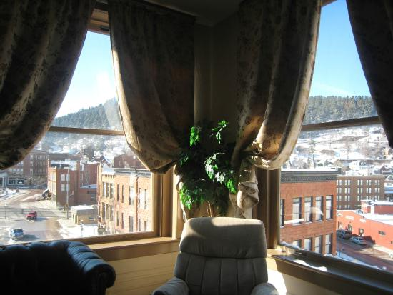 Deadwood Dick's: What a view from our Superior Family Suite Room 404