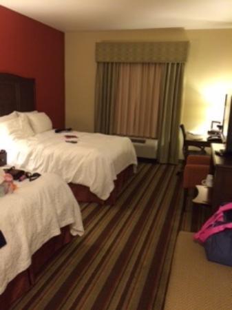 Hampton Inn Sulphur Springs : Comfy beds
