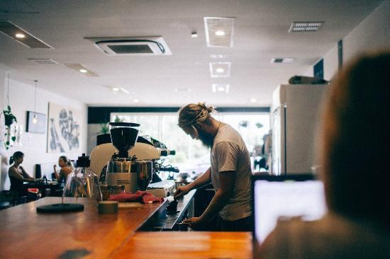 Coolum Beach, Australia: Coffee Time