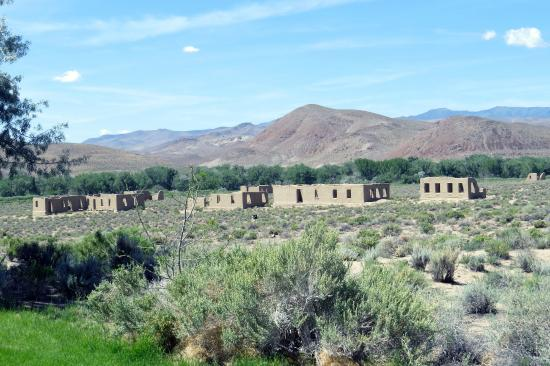 Silver Springs, NV: Fort Churchill ruins