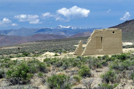 Silver Springs, NV: Fort Churchill - Sierra Mtns in distance
