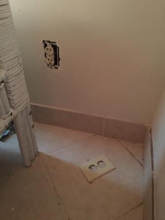 Sea Oats Condominiums: Missing outlet covers