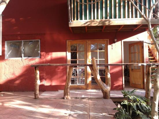Cabanas Manuto : Vista de la Cabaña por fuera
