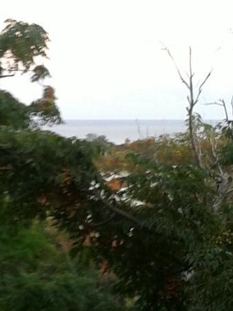 Cabanas Manuto : Vista desde la Cabaña