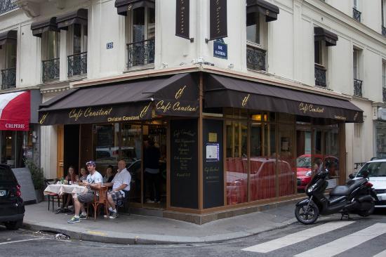 Cafe Constant Restaurant Paris