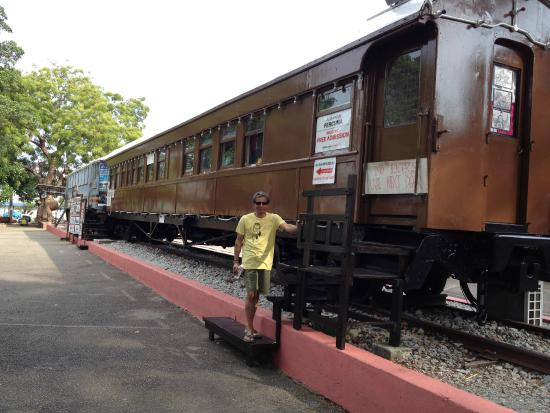 Architecture Museum of Malaysia: An Old Train infront of the Architecture Museum