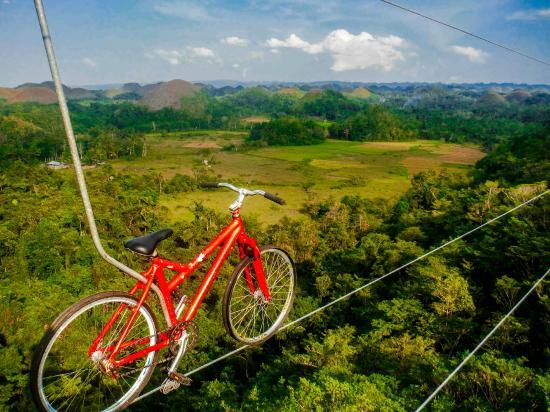 Carmen, Philippines: Zipbike