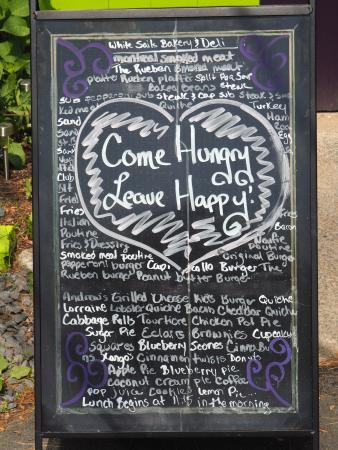 White Sails Bakery & Deli: Come Hunger, Leave Happy