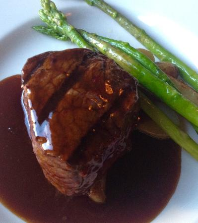 The Black &Tan Grille: They are known for their steaks. For a good reason!