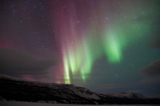 Aurora Borealis & Northern Lights Tours Yukon: March 17, 2015  Remote Cabin