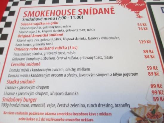 Bbq Smokehouse: Menu