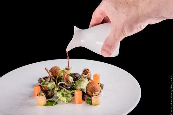 Hôtel Restaurant la Magnanerie : plat