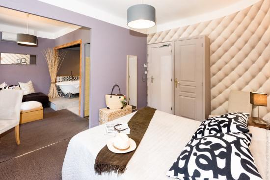 Hôtel Restaurant la Magnanerie : chambre