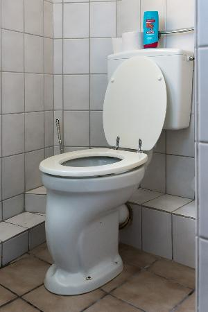 Domhotel : Toilet