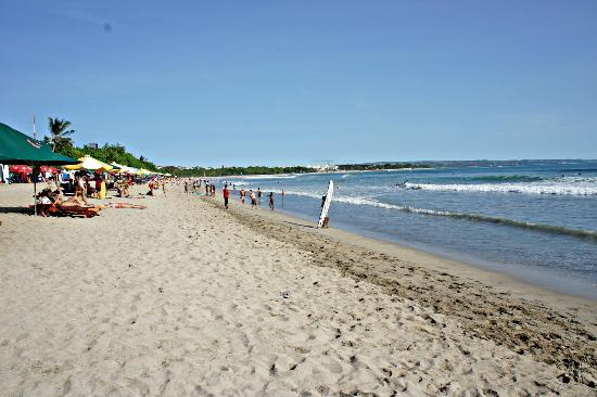 kuta beach bali pantai