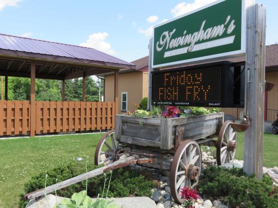 Wausaukee, WI: Newinghams Supper Club