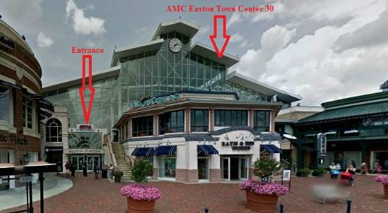 Great Movie Theatre Review Of Amc Easton Town Center 30