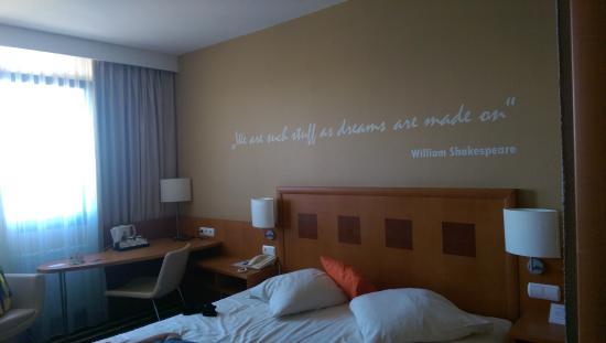 Novotel Gdansk Marina: Unser Zimmer