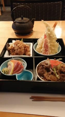Kuni's Japanese Restaurant: lunch bento