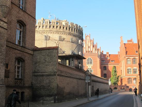 Planetarium - Toruń: вид снаружи