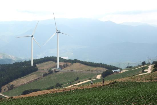 Maebongsan Wind Power Plant Complex