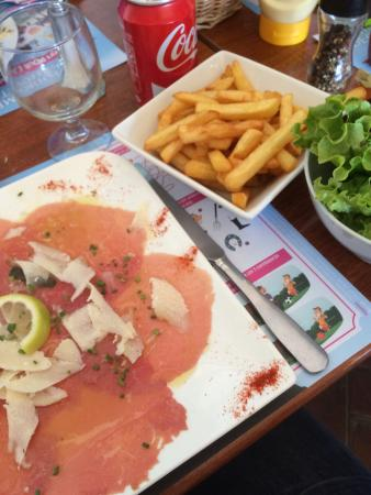 Le Tie Break : Carpaccio de Boeuf!