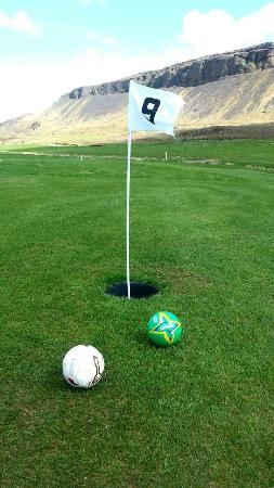 Guesthouse Dalbaer: Our Footgolf course 18 holes