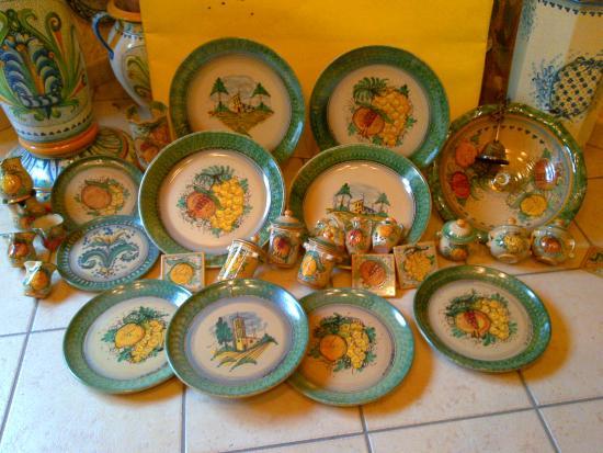 Piatti Ceramica Di Caltagirone.Piatti Rustico 900 Foto Di Ceramiche Artistiche Giuseppe Di