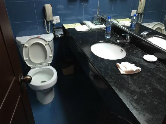 Jiahe Haijing Hotel: トイレ