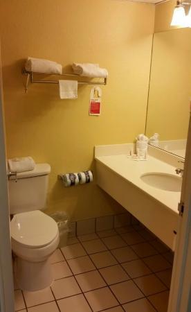 Ramada Lakeland: Bathroom