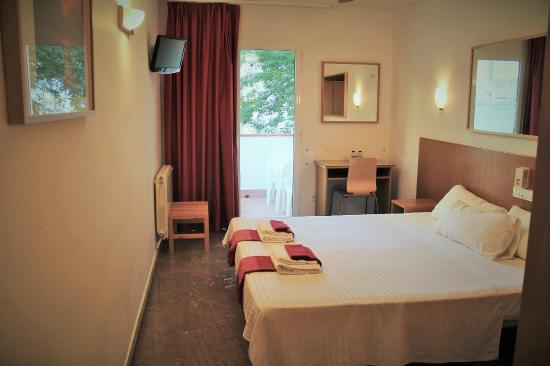 Hotel la caleta de Tamariu: Habitación doble