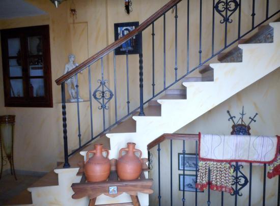 Hospederia el Caravansar: Entrance.