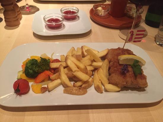 Restaurant Schwiizer Stube: Cordon Bleu