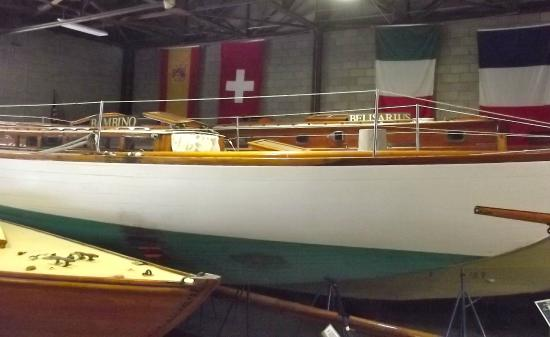 America's Cup Hall of Fame: Sailboat
