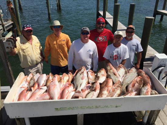 Offshore hustler fishing