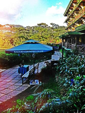 Baguio Country Club Back Portion Of The Hotel