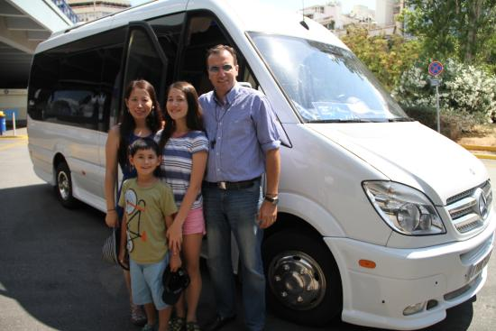 Athens Tours Greece : Wit Alex and his fancy vehicle