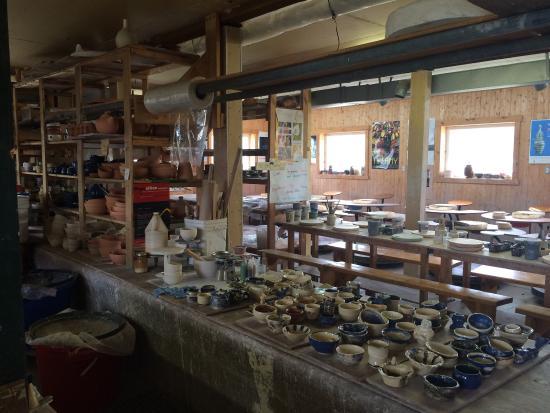 Saint-Simeon, Canada: Poterie de port-au-persil