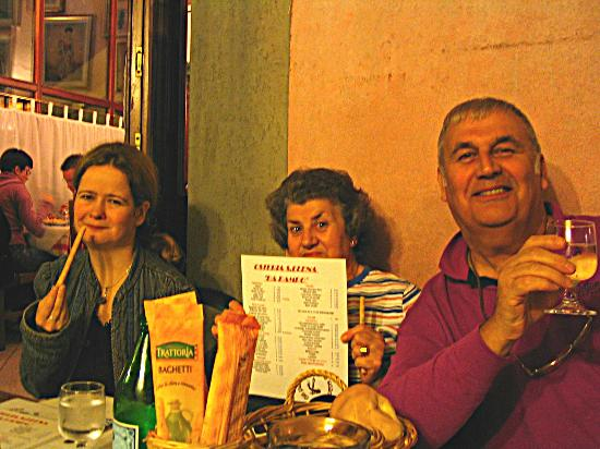 Osteria da Pampo: Family group @ Osteria dal Pampo - October 2004