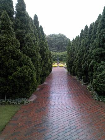 Entering Iris Garden Picture of Memphis Botanic Garden
