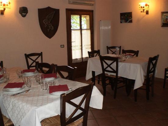 Casa di Campagna La Scortica: Il ristorante