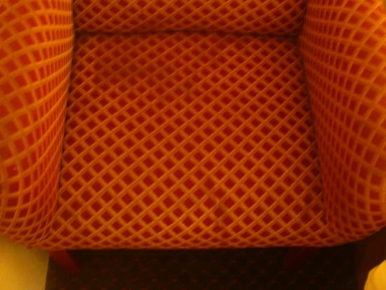Super 8 Pittsburgh/Monroeville: Stain on chairs.