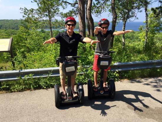 Glide N.E.W. LLC - Segway the Door Tours: We are Superman at Peninsula State Park